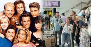 A Beverly Hills 90210 sorozat forgatásán készült első fotók. Már augusztusban jön a folytatás.
