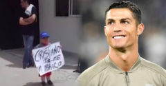 Ronaldo újra megmutatta, hogy van szíve. Egy kis szurkoló miatt megállította a csapatbuszt