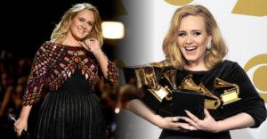 Adele hosszabb idő után újra a nyilvánosság előtt. Az énekesnő mindenkit meglepett karcsúságával.
