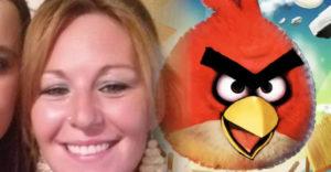 Angry Birds szemöldököt kapott a kirándulása előtt a kozmetikustól a háromgyerekes anyuka
