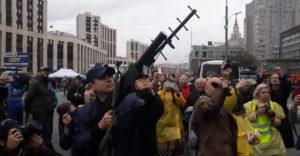Ne mozdulj! Egy drón letartóztatása Oroszországban