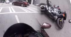 Most ki volt a bűnös? A motoros lábbal landolt a motorháztetőn