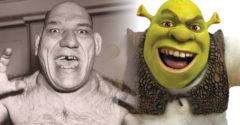 Shrek karaktere nem fikció. Állítólag Maurice Tillet-ről mintázták a figurát