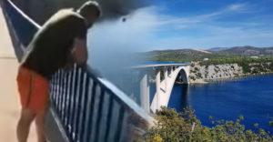 Rosszul végződött a leugrás a horvátországi hídról. A 40 méteres zuhanás után a mentőknek kellett őt kimenteniük