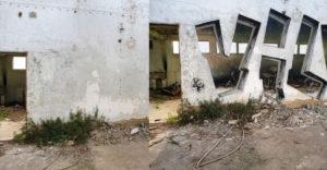 Egy graffiti művész átlátszóvá varázsolja a falakat, és ehhez csak spray-t használ