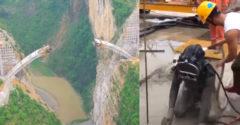 Lemerülni a betonba, óriási magasságban mászkálni vagy átcsúszni egy szűk csövön. A munkát mindenképpen el kell végezni