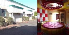 A fotós egy elhagyatott felnőtt motelre bukkant. Természetesen nem hiányoztak a speciális helyiségek és a forgó ágyak