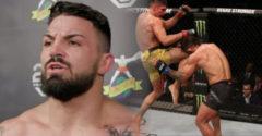 Mike Perry az UFC történetének egyik legdurvább orrtörését szenvedte el