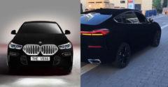 Levideózták a világ legfeketébb színű BMW X6-osát. Úgy néz ki, mint egy autó valamilyen számítógépes játékban