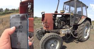 Modernizálnak a vidéki gazdák! A traktor okostelefonnal irányítható a kombájn hibrid lett