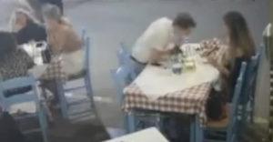 A gyorsan reagáló srác megmentette az étterem egyik vendégét a fulladástól
