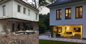 Az építészmérnöknő vett egy öreg házat és egy luxus lakóhellyé varázsolta az öttagú családja számára