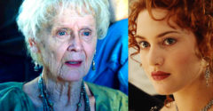Emlékszel még a színésznőre, aki az öregecske Rose-t játszotta a Titanicban. Fiatalkorában kitűnt a szépségével