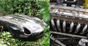 A szerelők nekiálltak egy 30 éve a bokrok között rozsdásodó Jaguar felújításának. Csodálatos a végeredmény
