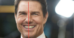Miért van Tom Cruise egyik első foga az arca közepén? A válasz a múltjában rejlik