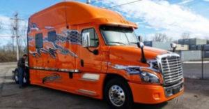 Munkahely vagy maga a paradicsom? Az amerikai kamionok kabinjában luxuskörülmények veszik körül a sofőröket