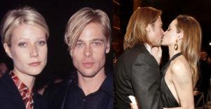 Valaki rájött, hogy Brad Pitt mindig úgy néz ki, mint aktuális barátnője