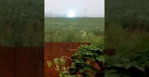Sikerült egy különleges videót készíteni a gömbvillámról