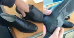 Orosz rendőrök bemutatják új cipőik minőségét (Jól szórakoznak)