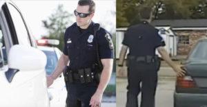 Miért tapogatja az amerikai rendőr az igazoltatott autójának hátulját?