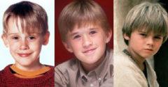 8 híres gyerekszínész, aki az évek során elvesztette a varázsát