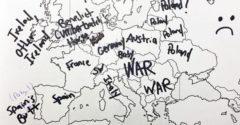 Amerikai diákok és Európa vaktérképe