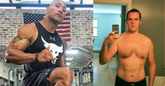 Egy átlagos fickó egy hónapig úgy étkezett és edzett, mint Dwayne Johnson