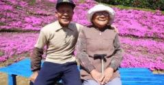 A férfi két év alatt több ezer virágot ültetett el. Lenyűgöző oka volt rá