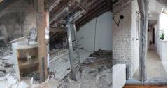 Vett egy lepusztult 50 m2 tetőtéri lakást felújította, nézd meg milyen most