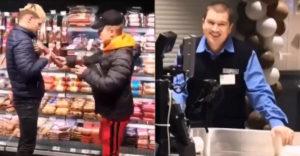"""A két """"varázsló"""" egy rúd szalámit lopott az üzletben. Átverték az eladónőt és a biztonsági őrt is"""