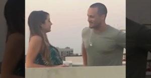 Eljött az első csók ideje (A srác nem jól értelmezte a helyzetet)