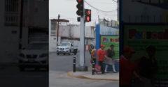 A legszórakoztatóbb gyalogoslámpa. Mexikóban úgy tartják, hogy az úttest az autóké