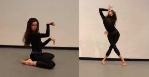 Lenyűgöző táncot mutatott be a macskanő. Teste minden porcikáját tökéletesen uralja