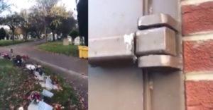 """A temetői hiénák az egyik temetői épületet akarták kilopni. A zsákmányuk valóságos """"kincs"""" volt. (A leghülyébb tolvajok"""""""