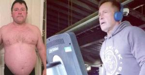 Az elhízott apuka több év elteltével újra sportolóvá vált. Ma már büszke a kockahasára