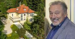 Az ingatlanpiacon máris megjelent a 7 szobás csodálatos villa, amely Karel Gotté volt.