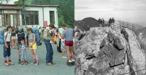 Emlékszik még valaki a szocializmus alatti Tátrára? Az emberek általánosságban véve teniszcipőben mászták a hegyeket.