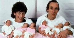 A születésükről szóló hírek valamikor körbejárták a világot. Ma már 36 éves felnőtt hölgyek.