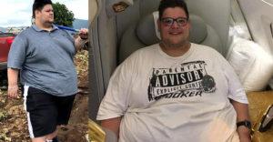 A túlsúlya miatt mindig két repülőjegyet kellett vennie. Elege lett ebből és lefogyott 201 kilót