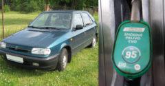 Szlovákiában 2020 január 1-től  eltűnik a benzinkutakról a Natural 95 benzin. Ez komoly probléma az öregebb autók számra