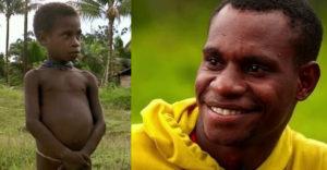 A fiú, akit 13 évvel ezelőtt meg akartak enni a kannibálok, felnőtt és visszatért közéjük