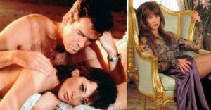 Emlékszel még a James Bond: A világ nem elég filmben szereplő Bond lányra. Még 5a éves kora után is nagyszerűen néz ki
