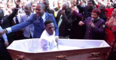 Az afrikai lelkész feltámasztott egy halott férfit