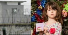 A 6 éves kislány kínai raboktól származó üzenetet talált a karácsonyi képeslapjában