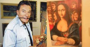 Elárverezték Karel Gott leghíresebb festményét. Két perc alatt elkelt, és tekintélyes összeget fizettek érte