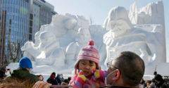 Különleges hófesztivál, ami az egész környéket téli álomvilággá változtatja