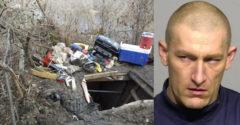 A rendőrség megtalált egy bűnözőt, aki kerek 10 éven át a helyi park alatt élt. Komoly arzenálja volt ott. neki