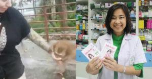 A nőt megharapta egy majom, ezért fájdalomcsillapítót vett a patikában. Ezért most börtönbüntetés fenyegeti őt.