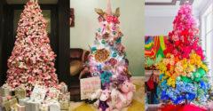 Így ne díszítsd soha a fádat! Nézd meg a leggiccsesebb karácsonyfákat
