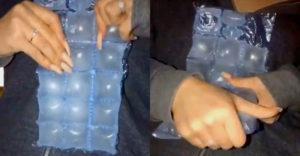 Az egész eddigi életedben rosszul szedted ki a jégkockát az ilyen jégkocka zacskókból (A legjobb módszer)